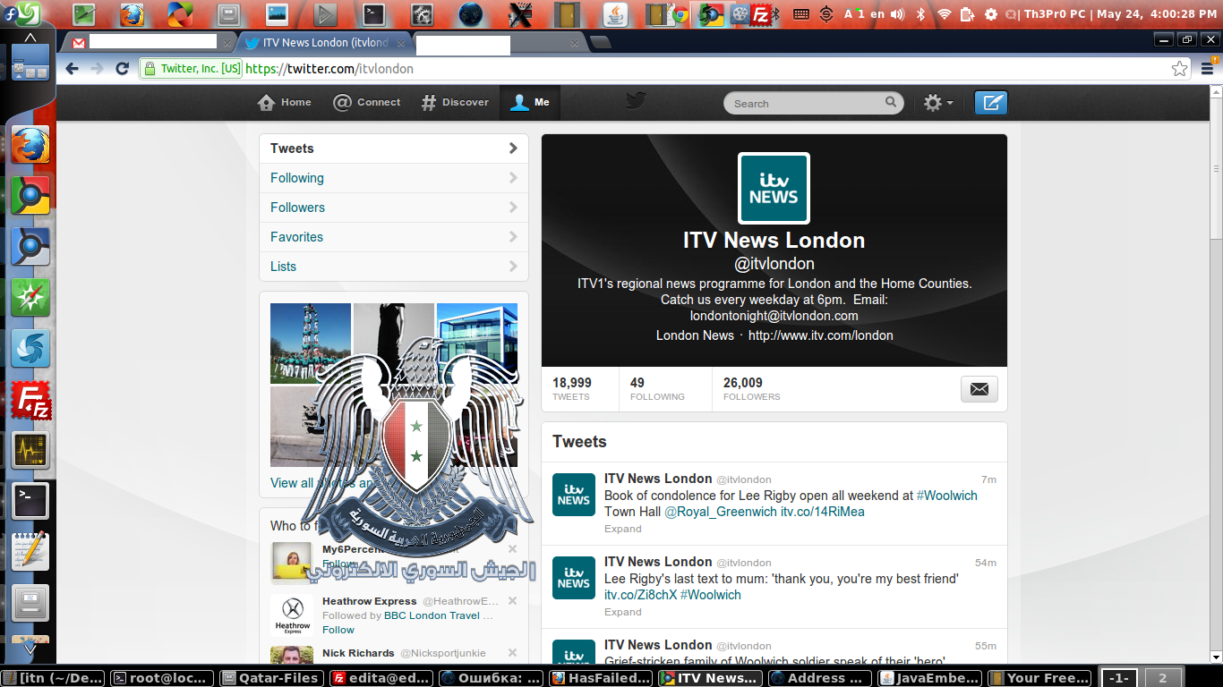 ITV News SEA compromised
