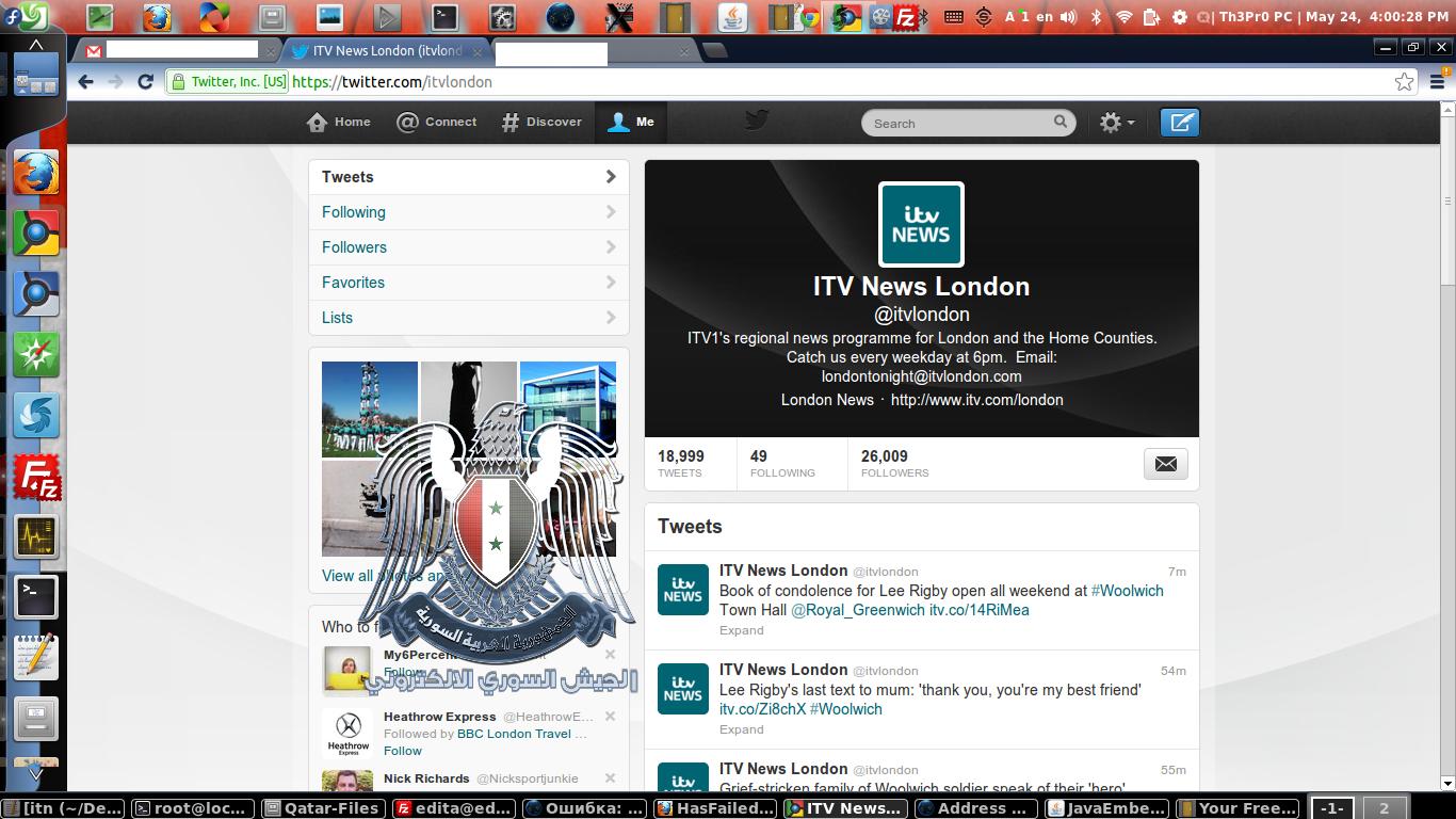 ITV News SEA compromised