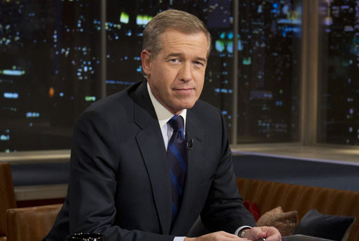 Journalism And Cable News >> Brian Williams, once NBC News star, gets lesser role at MSNBC