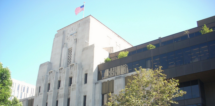 The Los Angeles Times building. (Photo: Flickr / LA Wad)