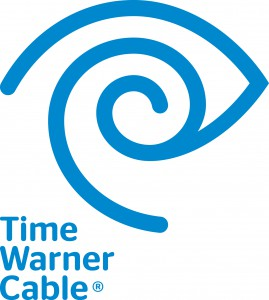 The logo of Time Warner Cable.