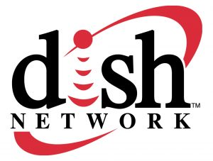 The logo of Dish Network.