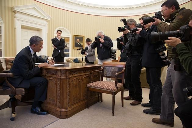 (Photo: Pete Souza/White House)