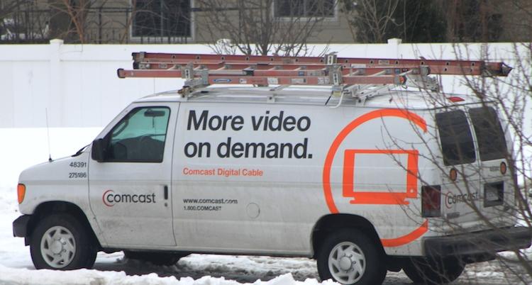 A Comcast service van. (Photo: Flickr CC)