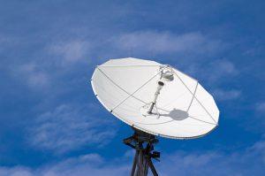A communications satellite (Source: Evuris)