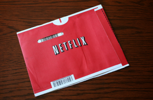A Netflix envelope containing a DVD movie. [Photo: Marit @ Toomas Hinnosaar]