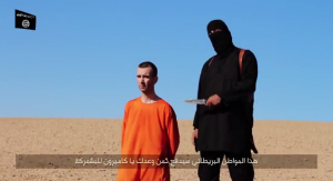 Still image from latest ISIS-released video (Photo: YouTube/The Desk)
