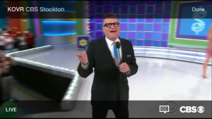 """A live broadcast of """"The Price is Right"""" streaming via KOVR-TV Sacramento on the CBS service """"All Access"""" (Photo: The Desk)"""