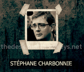 "Stéphane Charbonnie's image appears as part of a hit list in a copy of Al Qaeda's magazine ""Inspire."" [Photo: File]"