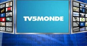 The logo of France's TV5Monde.