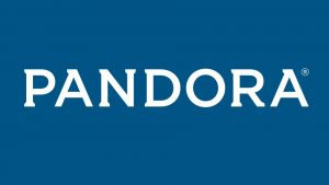 The logo of streaming music service Pandora. (Image: Pandora Media/supplied)