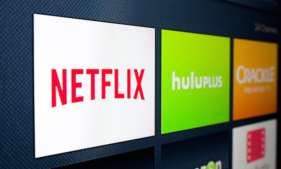 The Netflix application appears alongside other streaming media services. (Photo: Matthew Keys for The Desk / Creative Commons)