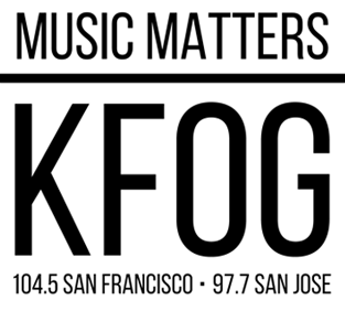 """The refreshed logo for KFOG featuring a new slogan, """"Music Matters."""" (Photo: Cumulus Media / supplied)"""