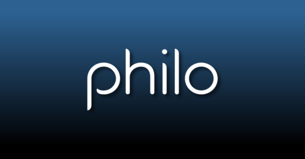 The logo of streaming television service Philo.